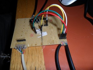 from radio side interface board #2