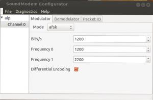 soundmodemconfig modulator